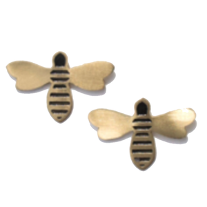 Earrings | Honey Bee Studs