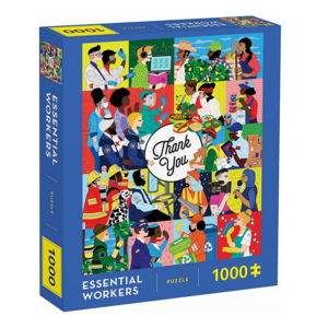 Chronicle Books Puzzle | 1000pc | Essential Workers