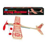 Channel Craft Airplane Glider | Guillows Flying Machine