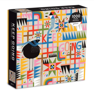 Chronicle Books Puzzle | 1000pc | Keep Going