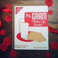 Card | My Gram Sweeter