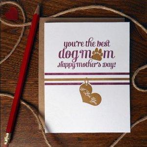 a. favorite design Card | Best Dog Mom