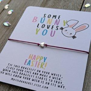 Wish Bracelets   Easter Card