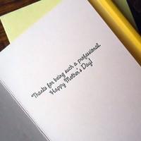Card | Valuable Mom Bill