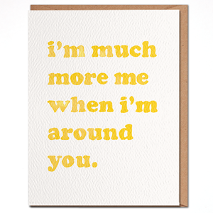 Daydream Prints Card   More Me Around You
