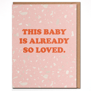 Daydream Prints Card | Baby so Loved