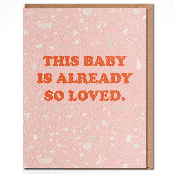 Card | Baby so Loved