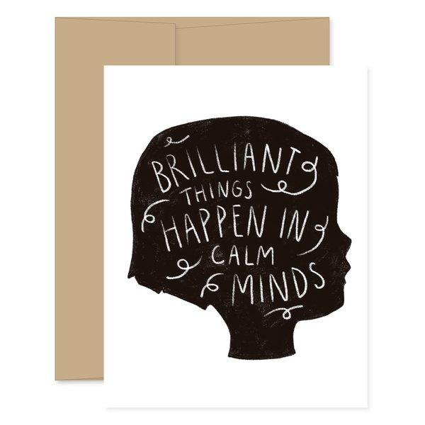 GINGIBER Card   Calm Minds