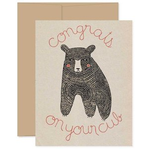 GINGIBER Card | Congrats on Your Cub