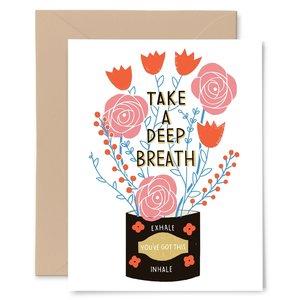 GINGIBER Card | Deep Breath