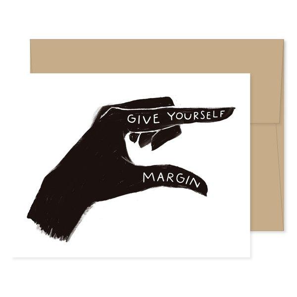 GINGIBER Card | Give Yourself Margin