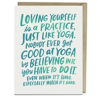 Emily McDowell Card   Loving Yourself