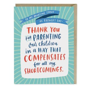 Emily McDowell Card | Amazing Spouse Father's Day