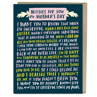 Emily McDowell Card | Wishes for You Mom