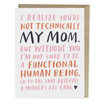 Emily McDowell Card | Not Technically Mom