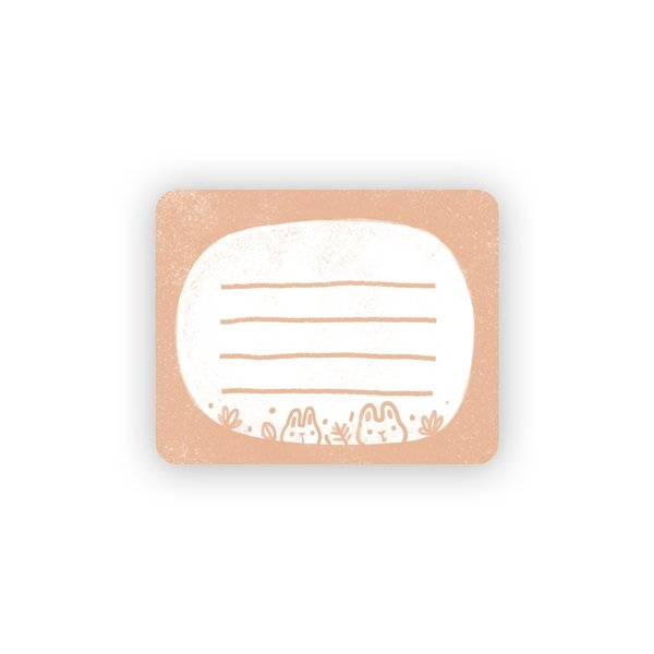 Little Red House Packets | Label Stickers
