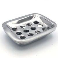 Soap Dish   Recycled Aluminum