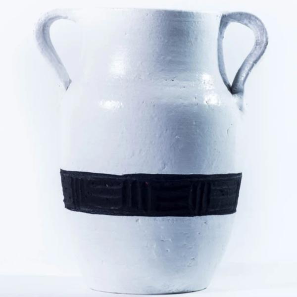 Milk Jug Vase | Matamiss | Black Stripe