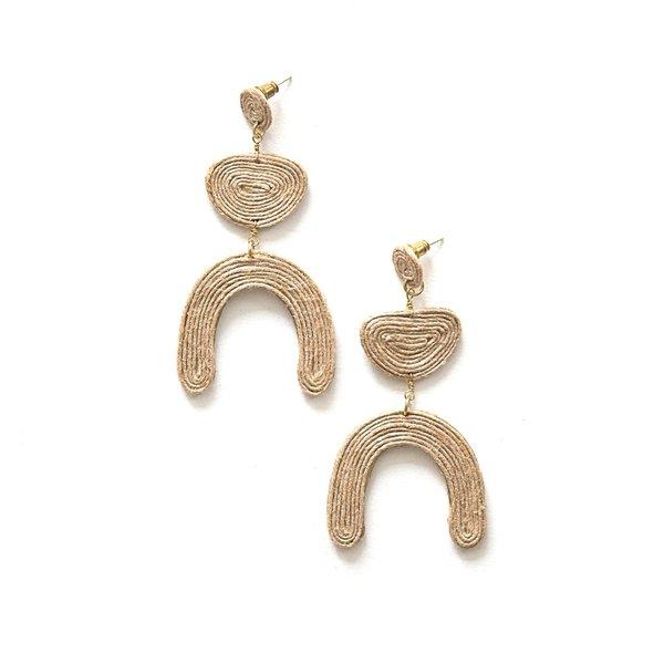 Jute Earrings | Jovial