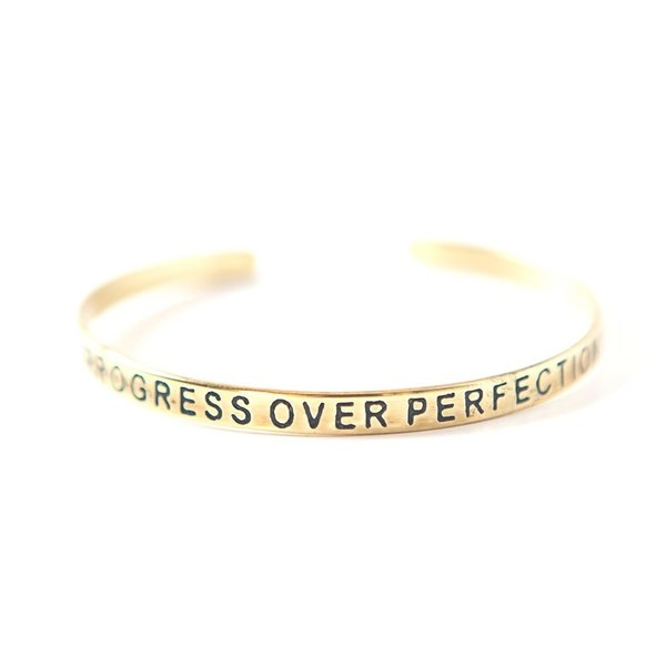 Brass Cuffs | Engraved Quotations