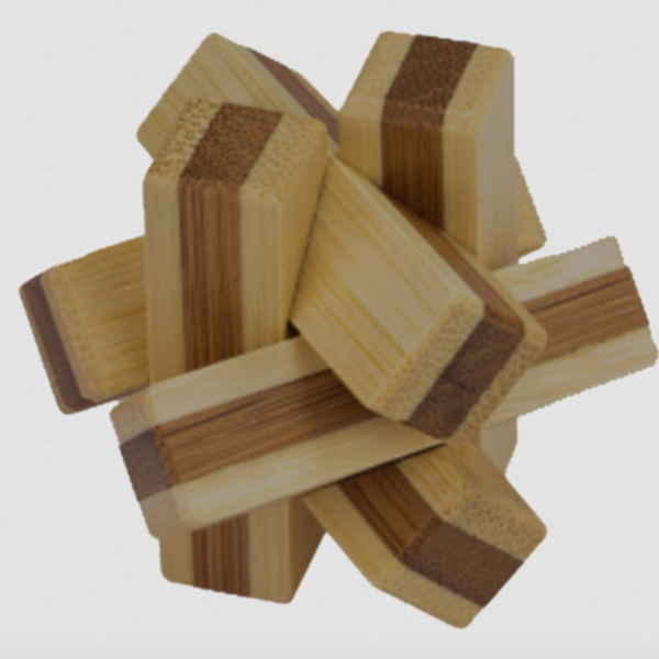 Project Genius Puzzles | Mini Bamboo (Variety)