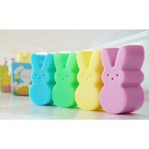 """Soap Bars   """"Peeps"""" Easter Bunny"""
