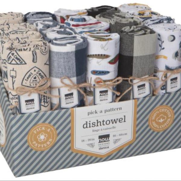 Now Designs Tea Towel | Lodge | Assorted