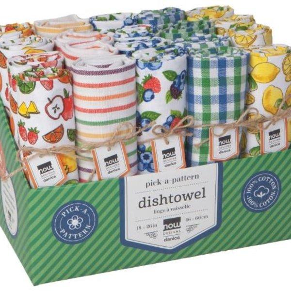 Now Designs Tea Towel   Berries & Fruit   Assorted