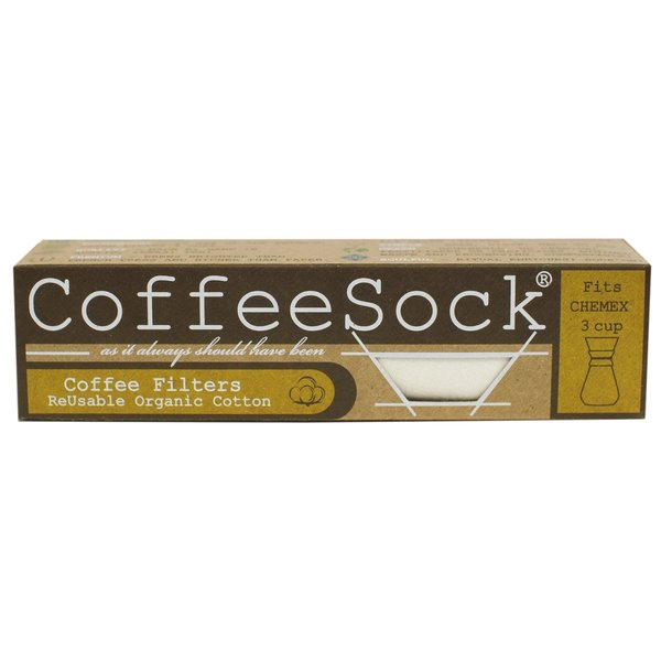 Coffee Sock Coffee Filters | Chemex® Style | 3 cup