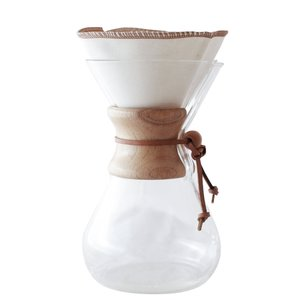 Coffee Sock Coffee Filters | Chemex® Style | 6-13 cup | Half Moon
