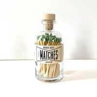 Made Market Co Matchstick Jar | Vintage Apothecary