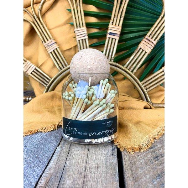 Made Market Co Matchstick Jar | Terrain
