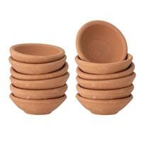 "Creative Co-Op Mini Bowl   Solid Terracotta   2.25"""