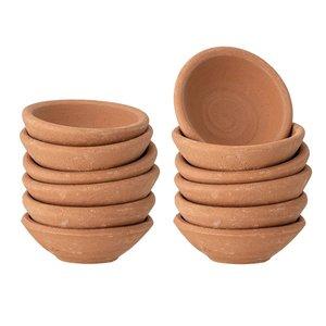 "Creative Co-Op Solid Terracotta Mini Bowl | 2.25"""