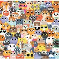 Crocodile Creek Puzzle | 500pc | Lots of Cats