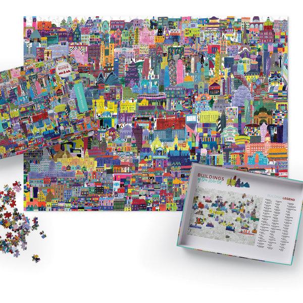 Crocodile Creek Puzzle | 1000pc | Buildings of the World