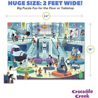 Crocodile Creek Puzzle | 48pc | Day at the Space Museum