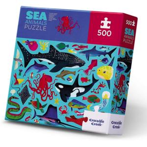 Crocodile Creek Puzzle | 500pc | Sea Animals