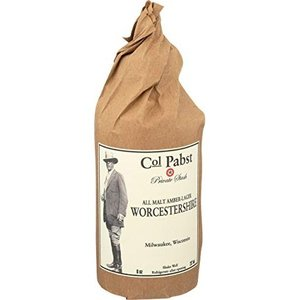 Colonel Pabst Col Pabst Worcestershire Sauce   Malt Amber-Lager