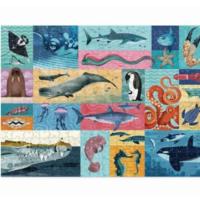 Crocodile Creek Puzzle | 500pc | Giants of the Sea