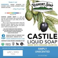 Castile Soap | Unscented | 16 fl oz