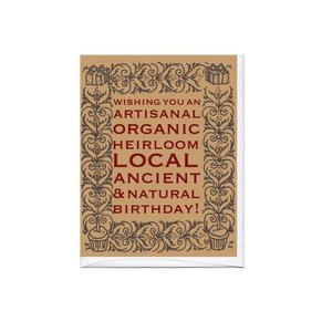 Card | Artisanal Bday