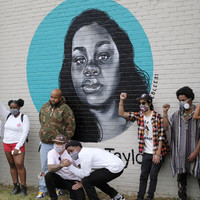 """Plenty Picked T-Shirt L/S   Eastside Mural Project   """"With Love"""""""