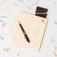 Sweeter Cards Chocolate Bar Card   Fire Hazard Birthday