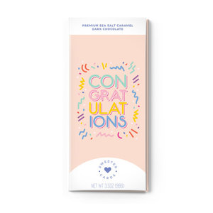 Sweeter Cards Chocolate Bar Card | Congratulations