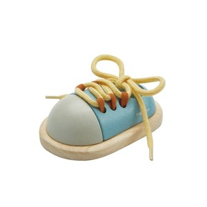 Plan Toys Toy | Tie-Up Shoe | Orchard