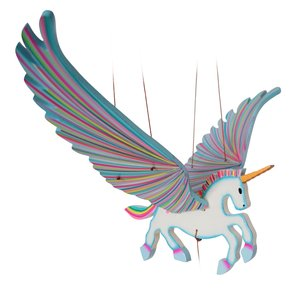Tulia's Artisan Gallery Mobile | Flying Unicorn