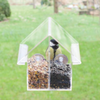 Esschert Design Window Feeder House | Acrylic Combi