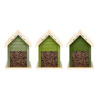 Esschert Design Bee House | Assorted Green Shades