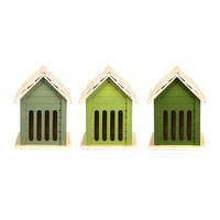 Esschert Design Butterfly House | Assorted Green Shades